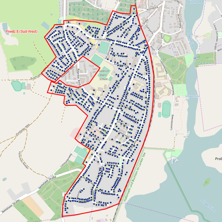 FttH Glasfaserausbau in Preetz - Polygon 8